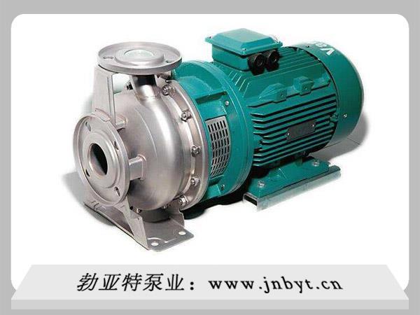 关于卧式不锈钢离心泵调节流量的方式你知道多少?