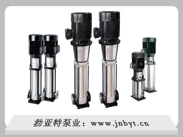立式不锈钢离心泵都有哪些主要部件?