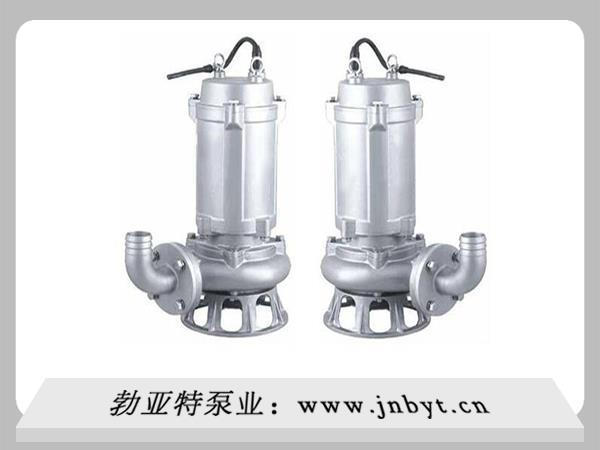 在使用不锈钢潜水排污泵其间应注意哪些事项?