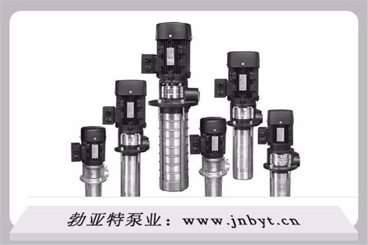 影响多级不锈钢离心泵扬程的重要因素是叶轮外径和泵的转速,在其他条件不变的情况下,泵的扬程与速度的二次方成正比例关系